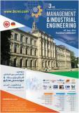 سومین کنفرانس بین المللی مدیریت و مهندسی صنایع ، آلمان - شهریور 95