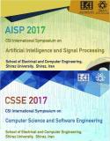 بیست ویکمین کنفرانس بین المللی علوم کامپیوتر و مهندسی نرم افزار و نوزدهمین کنفرانس بین المللی هوش مصنوعی و پردازش سیگنال - آبان 96