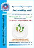 فراخوان مقاله ششمین کنگره انجمن روانشناسی ایران - آبان 96