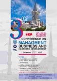 سومین کنفرانس بین المللی مدیریت،تجارت و توسعه اقتصادی - شهریور 96
