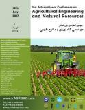 سومین کنفرانس بین المللی مهندسی کشاورزی و منابع طبیعی - تیر 96