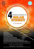 چهارمین کنفرانس بینالمللی انرژی خورشیدی