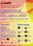 فراخوان مقاله چهاردهمین کنگره بین المللی سیستم های کلان مقیاس محاسباتی و تحلیل کلان داده تحت عنوان TOPHPC2019