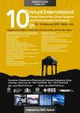 دهمین کنفرانس بین المللی الکترونیک قدرت، سیستم های محرکه و فناوری (نمایه شده در ISC )