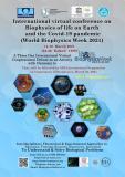 کنفرانس بین الملی مجازی بیوفیزیک حیات روی زمین و پاندمی کوید-19   (هفته جهانی بیوفیزیک 2021)